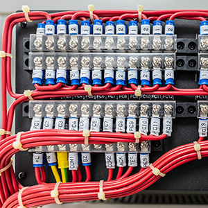 Control Panel Wiring Colour Codes