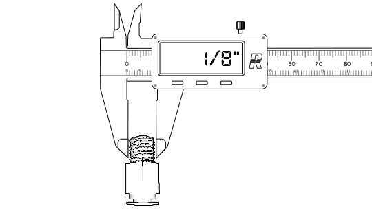 How to Measure BSP Fittings