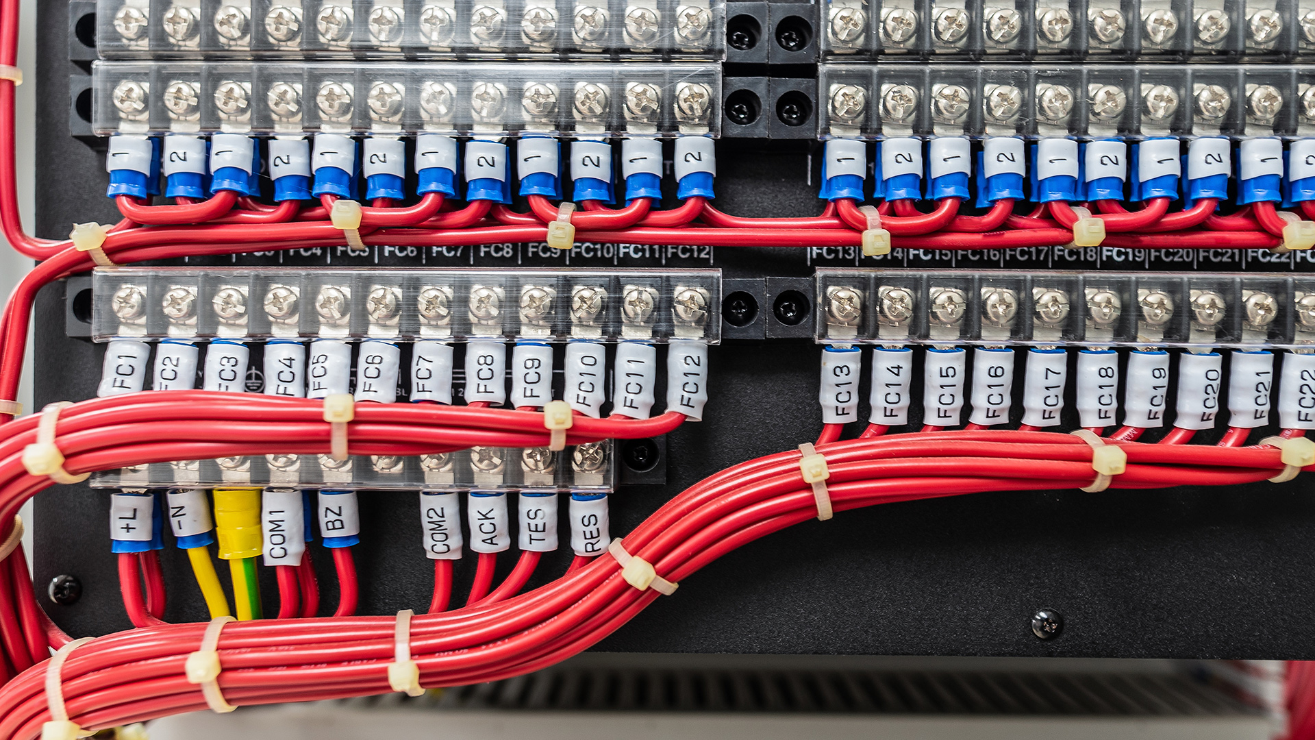 [DIAGRAM_5NL]  Control Panel Wiring Colour Codes Per EN 60204-1 Guide - Rowse | International Wiring Color Code Machine |  | Rowse